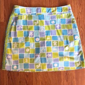 Lilly Pulitzer Sea Pattern Skort
